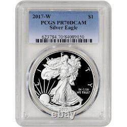2017-W American Silver Eagle Proof PCGS PR70 DCAM
