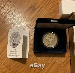 2019 S American Eagle One Ounce Silver Enhanced Reverse Proof Coin 19xe Untouche