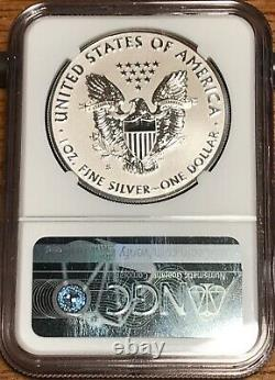 2019-S Silver Eagle Enhanced Reverse Proof NGC PF69 Baltimore Show Release WithCOA