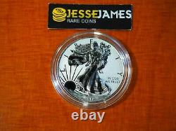 2019 W Enhanced Reverse Proof Silver Eagle From Pride Of Nations One Coin In Cap