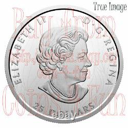2020 Proud Bald Eagle $25 EHR Extra High Relief Head Proof Silver Coin Canada