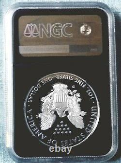 2020 S Silver American Eagle PF70 FDI SIGNED BY John Mercanti