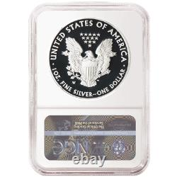 2020-W Proof $1 American Silver Eagle NGC PF70UC Brown Label