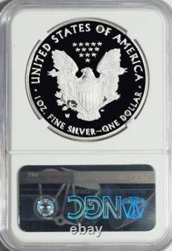 2021 W Eagle 1oz Silver Heraldic Eagle T-1 Early Release NGC PF70 Ultra Cameo