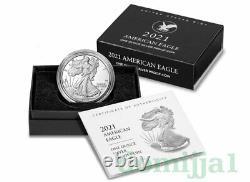 2021-W NEW American Silver Eagle Proof(21EAN) Type-2 / Pre-Sale