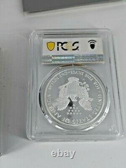 End of World War II 75th Anniversary American Eagle Silver Proof V75 PCGS69