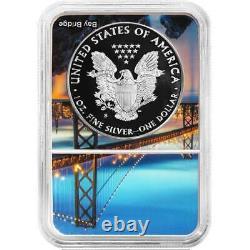 Presale 2020-S Proof $1 American Silver Eagle NGC PF70UC ER San Francisco Core