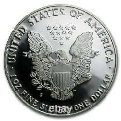 1986-s Proof American Silver Eagle Pr-70 Pcgs Sku #63200