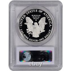 1987-s American Silver Eagle Proof Pcgs Pr70 Dcam