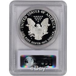 1990-s Américain Silver Eagle Proof Pcgs Pr70 Dcam