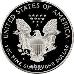 1992-s American Silver Eagle Preuve