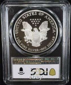 1995-w $1 1 Oz Proof American Silver Eagle Pcgs Pr68dcam Pas De Scratches À Cheveux