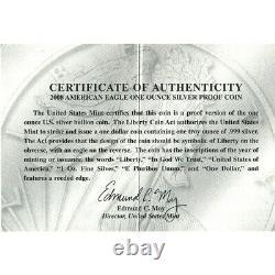 2008-w American Silver Eagle Proof