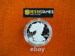 2012 S Proof Silver Eagle De San Francisco Set One Coin In Cap