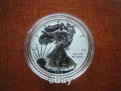 2012 S Reverse Proof Silver Eagle De San Francisco Mis Une Pièce De Monnaie Dans Le Chapeau