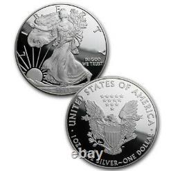2012-s 2 Pièces D'argent American Eagle San Francisco Set Avec Boîte Et Coa