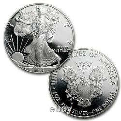 2013 États-unis Mint West Point Silver Eagle Limited Edition Set Proof