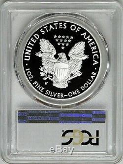 2016 W 1 $ Proof Silver Eagle Limited Edition Set 30e Anniversaire Pcgs Pr70 Dcam