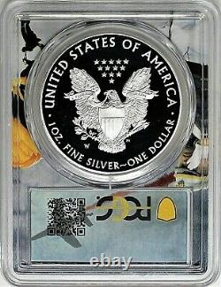 2016 W (2020) $1 Proof Silver Eagle Pcgs Pr70 Dcam West Point Mint Hoard