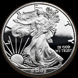 2017-s 1 Oz En Argent Épreuve Numismatique American Eagle (félicitations Set) Sku # 149988