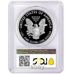 2017-w (2020) Preuve 1 $ Américain Silver Eagle Pcgs Pr70dcam Us Mint Spéciale Issu