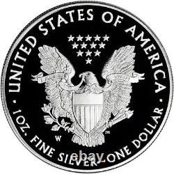2017-w American Silver Eagle Proof Pcgs Pr70 Dcam First Strike 225th Ann