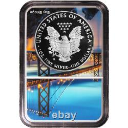 2018-s Preuve $1 American Silver Eagle Ngc Pf69uc Er San Francisco Core