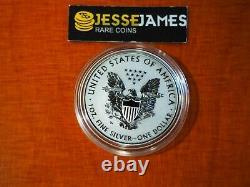 2019 W Preuve Inverse Amélioré Silver Eagle De Pride Of Nations One Coin À Cap