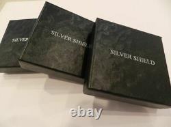 2020 1 Oz Death Eagle Proof Silver Shield. 999 Ronde De Collecte En Main