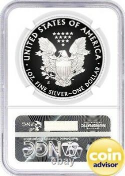 2020 S Preuve De 1 $ Silver Eagle Ngc Pf70 Premier Jour D'émission Mercanti Signature