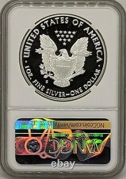 2020 S Silver American Eagle Ngc Pr70 Ultra Cameo San Francisco Trolley Label