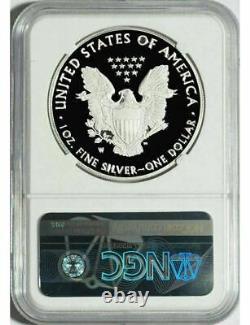 2020 W American Silver Eagle Ngc Pf70 Ultra Cameo Mercanti Signé