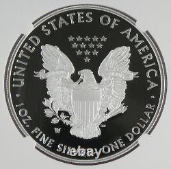 2020 W Fin De La Seconde Guerre Mondiale 75e Anniversaire Américain 1 Oz Silver Eagle V75 Ngc Pf69 Uc