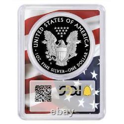 2020-s Proof 1 $ Américain Silver Eagle Pcgs Pr70dcam Fdoi Trump 45ème Président La