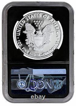 2020s Preuve Américaine Silver Eagle San Francisco Ngc Pf70 Uc Ide Bc Câble Presale