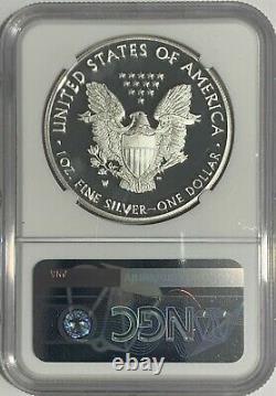 2021 W $1 Ngc Pf69 Er Ultra Cameo Preuve De Libération Anticipée Silver Eagle Heraldic T-1