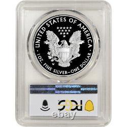 2021 W American Silver Eagle Proof Pcgs Pr69 Dcam Première Grève West Point Label