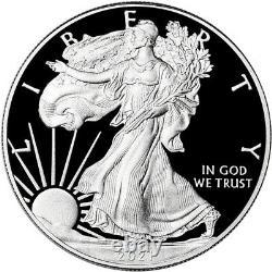 2021 W American Silver Eagle Proof Pcgs Pr70 Dcam Première Édition