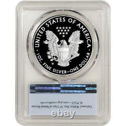 2021 W American Silver Eagle Proof Pcgs Pr70 Dcam Première Grève
