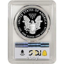 2021 W American Silver Eagle Proof Pcgs Pr70 Dcam Première Grève West Point Label