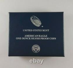 2021-w American Eagle One Ounce Pièce De Preuve En Argent 1oz (type 1)