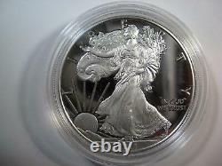2021 (w) American Silver Proof Eagle Dernier Numéro Heraldic Eagle Low Mintage