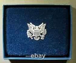 2021-w U. S. Silver Eagle Proof Last Heraldic Reverse Ogp, Coa