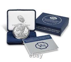 Dans La Main Fin De La Seconde Guerre Mondiale 75e Anniversaire American Eagle Silver Proof Coin