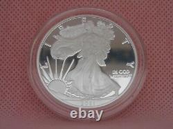 Eagle Héraldique (type 1)! 2021-w American Eagle Silver Proof Pièce (21ea)