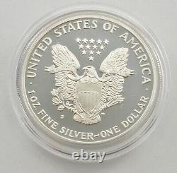 Ensemble Complet 1986-2020 American Silver Eagle Proof 1 Oz Box & Coa Collection