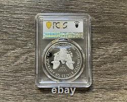 Fin De La Seconde Guerre Mondiale 75e Anniversaire American Eagle Silver Proof Coin Pcgs Pr70