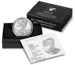 Lot De 3 Seeled Us Mint American Eagle 2021 Silver Proof West Point (w) 21ean