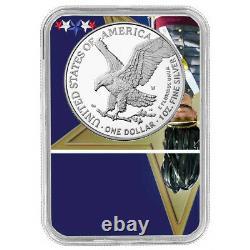 Prévente 2021-w Preuve $1 Type 2 American Silver Eagle Ngc Pf70uc Fdi West Point