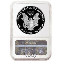 Prévente 2021-w Proof $1 American Silver Eagle Ngc Pf70uc Blue Er Label